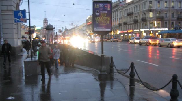 Про пешеходные улицы в СПб