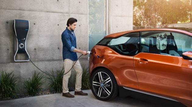 Зарядка BMWi i3 Coupe