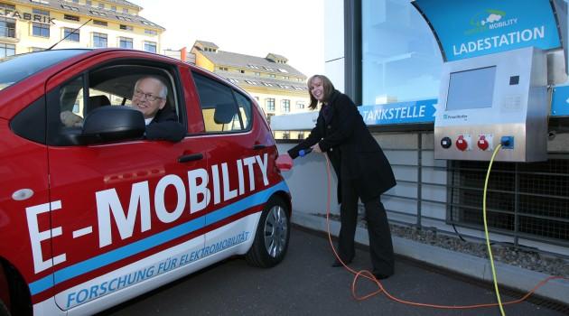 Устройство для зарядки автомобиля