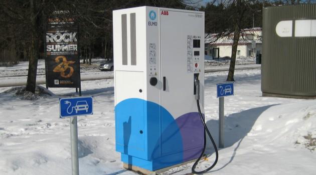Зарядка для электромобилей в Таллинне