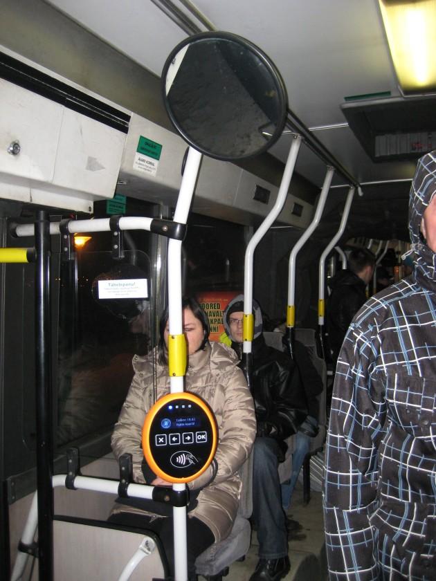 Автобус в Таллинне