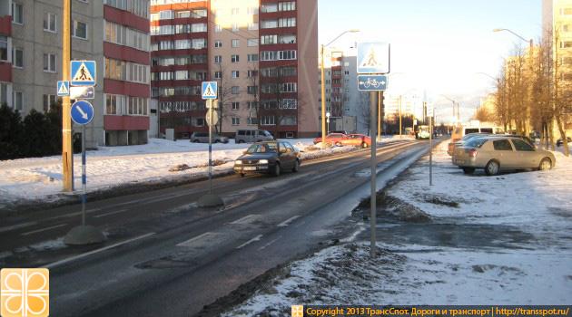Пешеходные островки в Таллинне