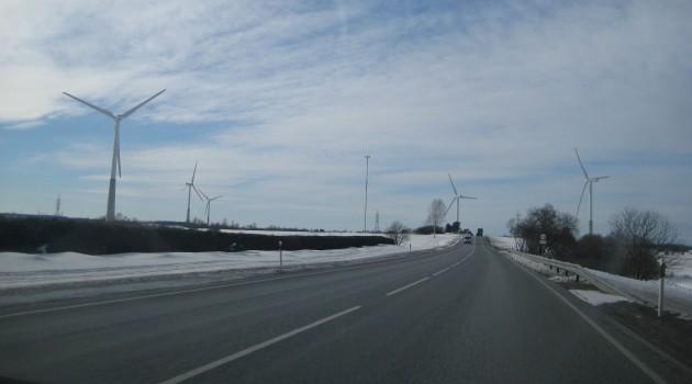 Ветряки для производства электроэнергии в Эстонии