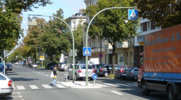 Пешеходный переход в Германии