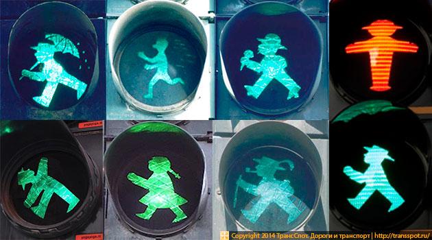 Зеленый сигнал для пешехода Ампельманн
