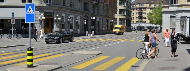 Пешеходные переходы в Швейцарии