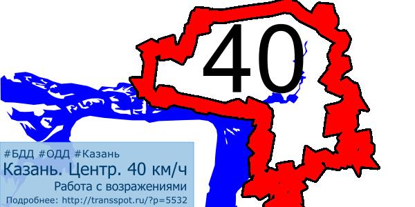 Казань. 40 км/ч. Работа с возражениями