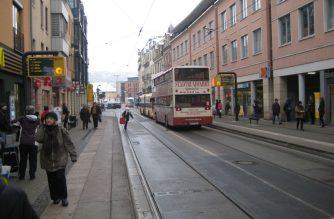 Примеры типовых поперечных профилей улиц в Германии. Часть 1