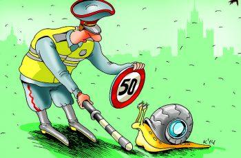 Администрация Омска хочет ввести ограничение скорости в городе 50 км/ч