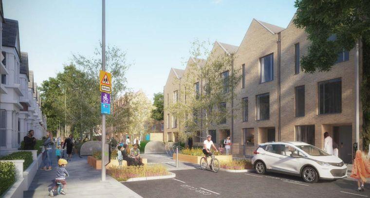 Оснащение улиц: жителям Лондона нужны тихие, безопасные, доступные улицы с низкой интенсивностью транспортного потока, приятные для прогулок, езды на велосипеде, проведения времени.